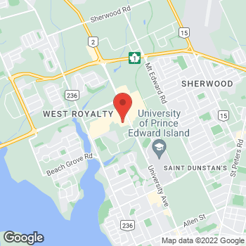 Map of Staples Print & Marketing Services at 655 University Avenue, Charlottetown, PE C1E 1E5