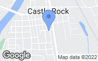 Map of Castle Rock, WA