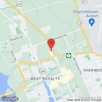 Map of Bed Bath & Beyond at 193 Malpeque Road, Charlottetown, PE C1E0C4