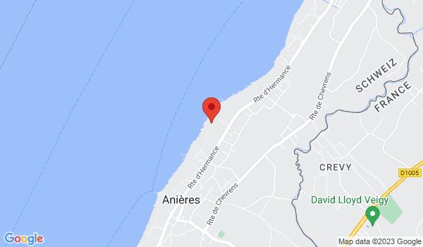 Location map House for sale, Anières