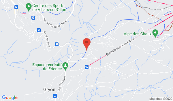Location map Chalet for sale, Gryon