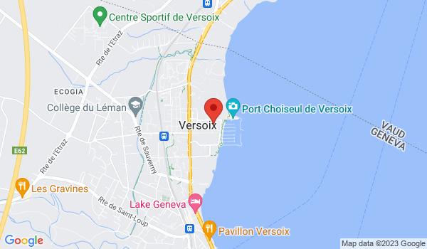 Carte situant Local Commercial de 1'320m<sup>2</sup> à vendre, Versoix