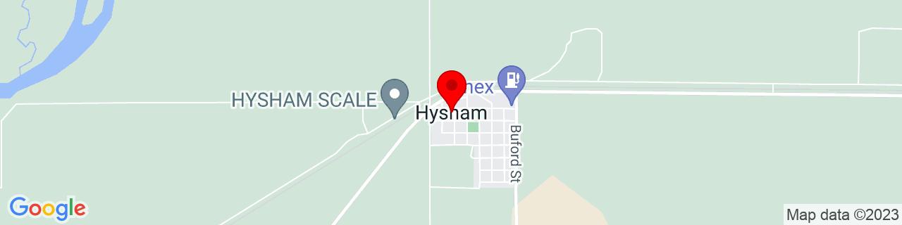 Google Map of 46.29276549999999, -107.2342299