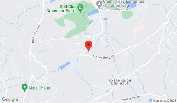 Location map Chalet for sale, Crans-Montana