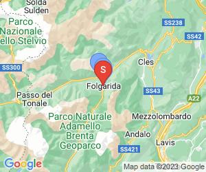 Karte für Active Hotel Garni dal Bracconiere