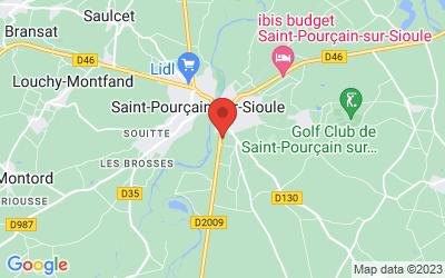 ZA La Carmone  - Route  Gannat - 03500 Saint-Pourçain-sur-Sioule