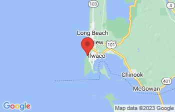 Map of Long Beach Peninsula