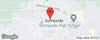 Map of 706 E Edison Ave in Sunnyside