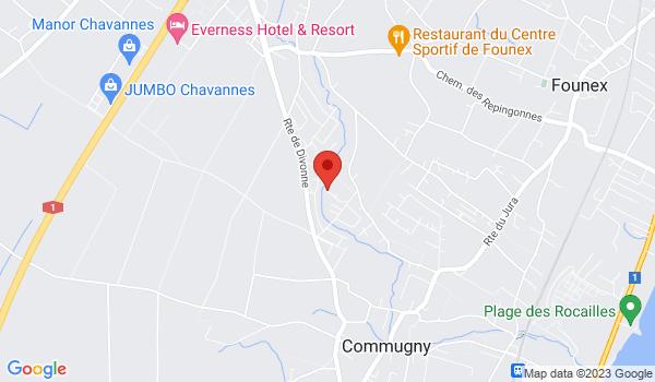 Location map House for sale, Commugny