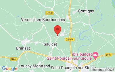 1 chemin des Burliers - 03500 SAULCET