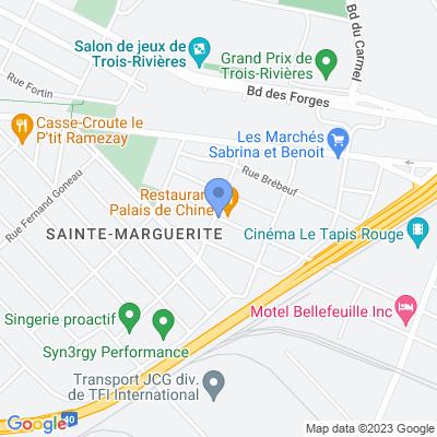 Dépanneur Plus Map