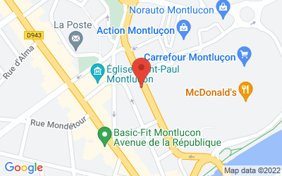 37 quai Louis Blanc, 03100 Montluçon