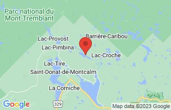 Map of Saint-Donat