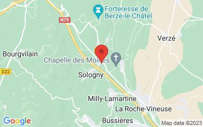 La Croix Blanche, 71960 Sologny, France