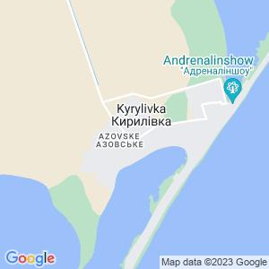 Карта города Кирилловки