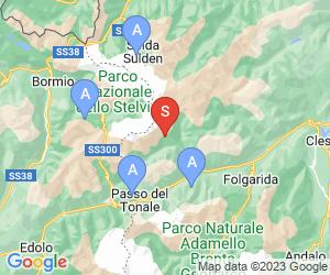 Karte für Pejo
