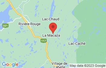 Map of La Macaza