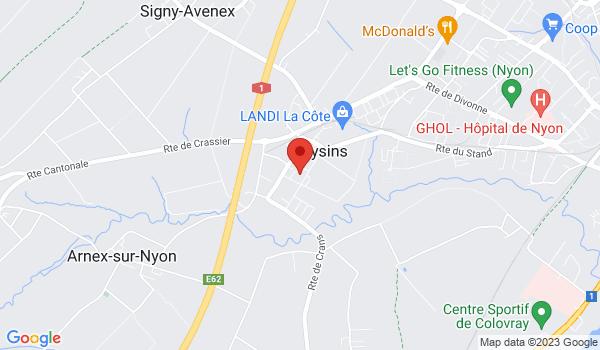 Google map positionnant le bien Charmante villa mitoyenne familiale de 5.5 pièces