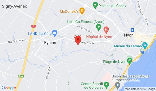 Google map positionnant le bien Attique avec beau balcon