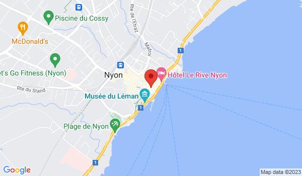 Google map positionnant le bien Belle appartement lumineux et moderne de 5.5 piéces