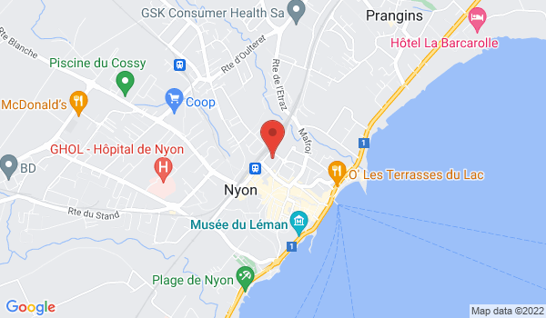 Google map positionnant le bien Places de parc extérieures