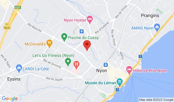 Google map positionnant le bien Appartement de 3 pièces à Nyon