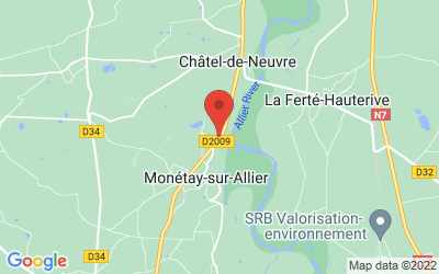 7 route du Bourbonnais - 03500 MONETAY-SUR-ALLIER