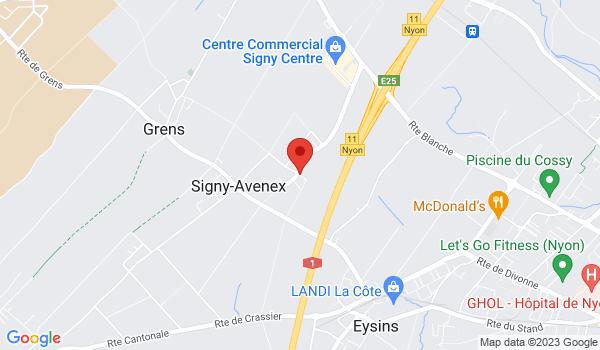 Google map positionnant le bien Bel appartement de 4,5 pièces en duplex à Signy