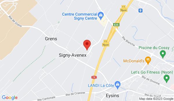 Google map positionnant le bien Garage à louer à Signy