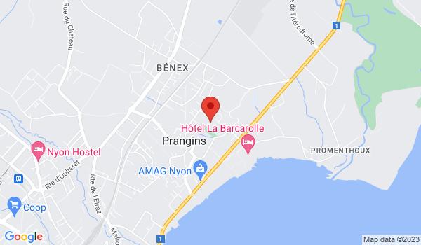 Google map positionnant le bien Magnifique villa individuelle de standing d'env. 200m2 à Prangins