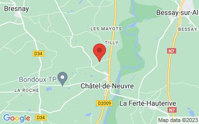 12 Rue des Gravoches, 03500 Châtel-de-Neuvre, France