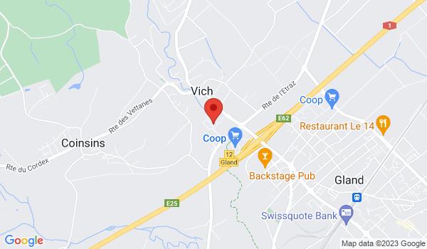 Google map positionnant le bien Beau studio avec jardin à Vich