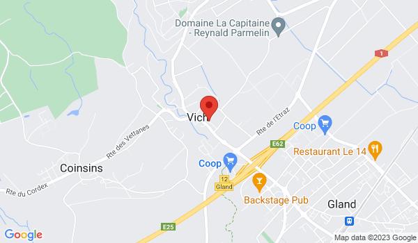 Google map positionnant le bien Magnifique appartement de 4,5 pièces avec jardin à VICH
