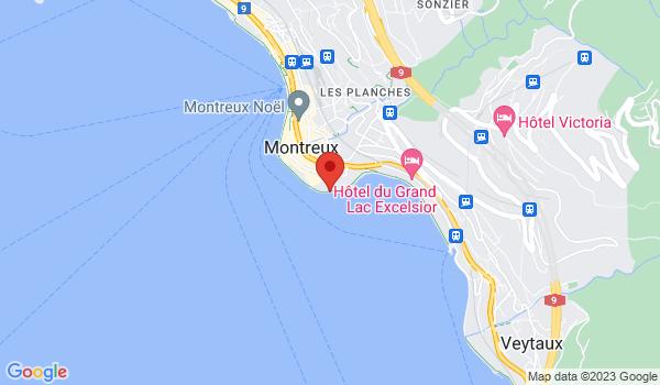 Carte situant Appartement à vendre, Montreux