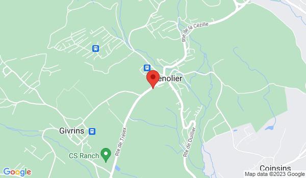 Google map positionnant le bien Très beau 4,5 pièces duplex à Genolier