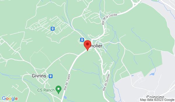 Google map positionnant le bien Splendide duplex de 5.5 pièces à Genolier