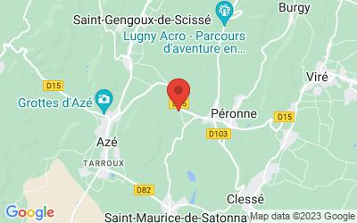 Saint Pierre de Lanques  71260 PERONNE
