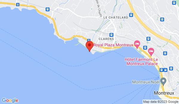 Carte situant Maison à vendre, Montreux