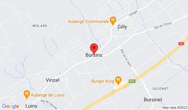 Google map positionnant le bien Exclusivité Rez-jardin de 4.5 pièces