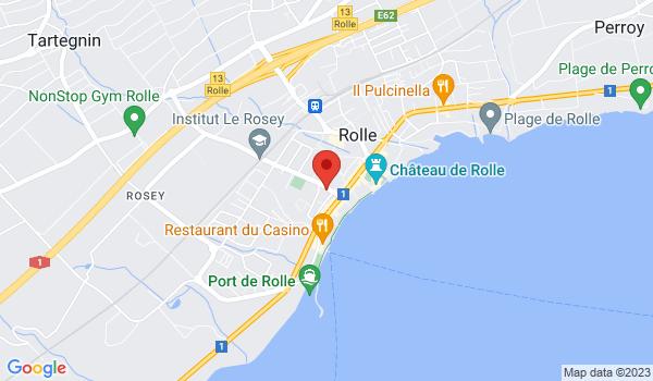 Google map positionnant le bien Plusieurs locaux à Rolle