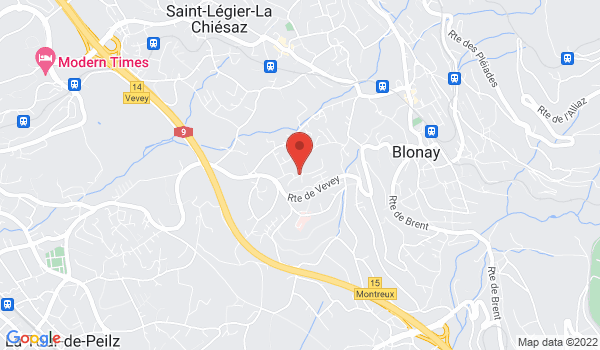 Location map House for sale, Blonay