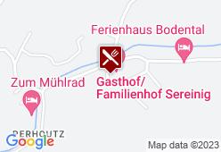 Familienhof Sereinig - Karte