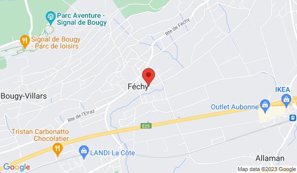 Google map positionnant le bien Lumineuse villa Jumelle