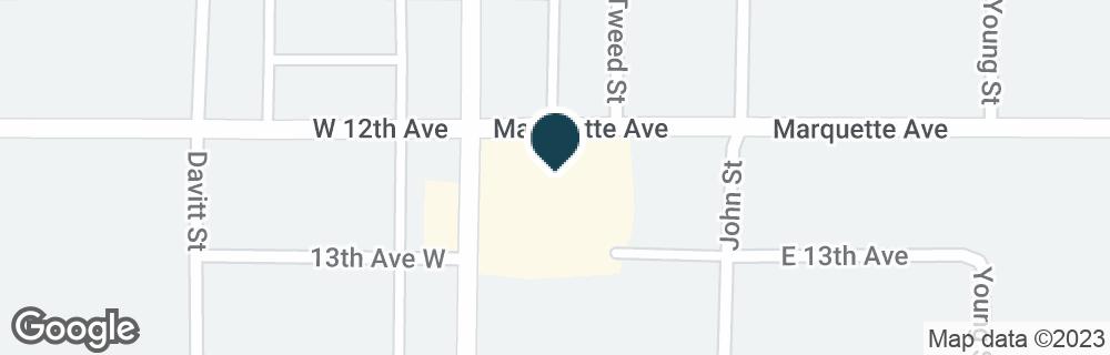 Google Map of2101 ASHMUN ST