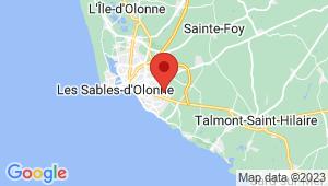 Carte de localisation du centre de contrôle technique LE CHATEAU D OLONNE