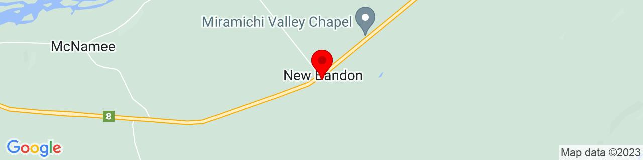 Google Map of 46.50064, -66.24919