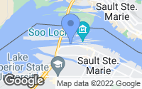 Map of Sault Ste. Marie, MI