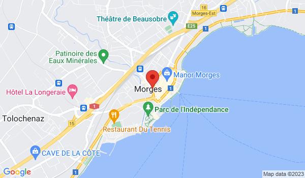 Google map positionnant le bien Superbe appartement de 4,5 pièces à Morges