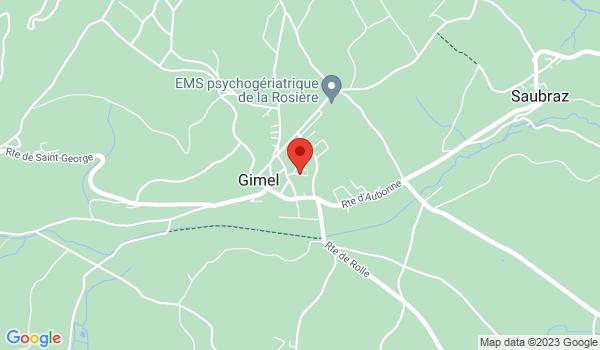 Google map positionnant le bien Bel appartement de 3,5 pièces à Gimel