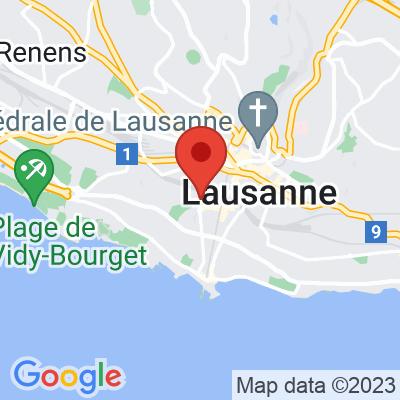 Map showing Ça Passe Crème!